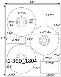 cd label size